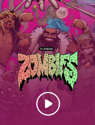 Flatbush Zombies VR video